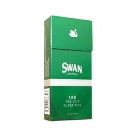 Φιλτράκια Swan Extra Slim Μέντα 5.7mm