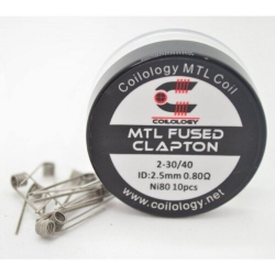 Coilology MTL Fused Clapton Ni80 0.8ohm