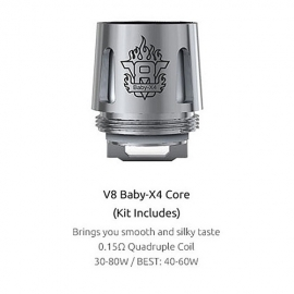 Smok TFV8 Baby X4 ανταλλακτικές κεφαλές 0.15hm